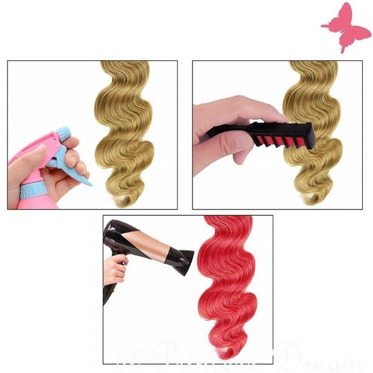 Haarkreide Pink