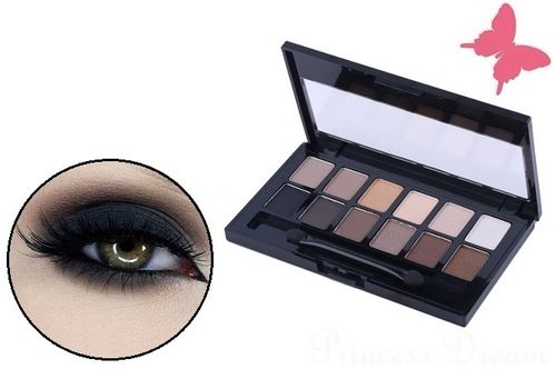 Lidschatten Palette Make-UP Set 12 Farben
